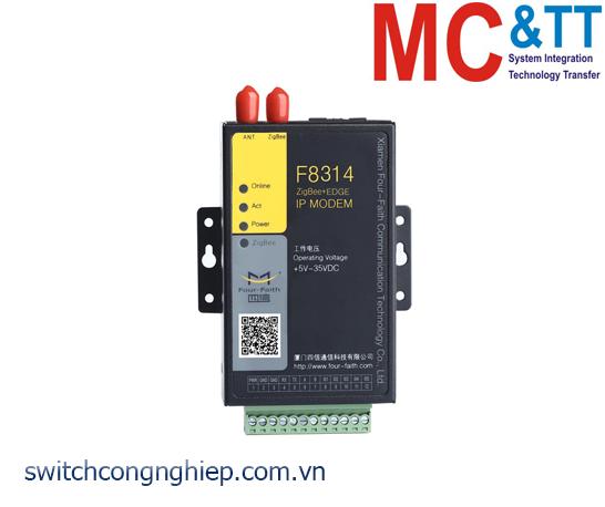 F8314: ZigBee + EDGE IP Modem Four-Faith
