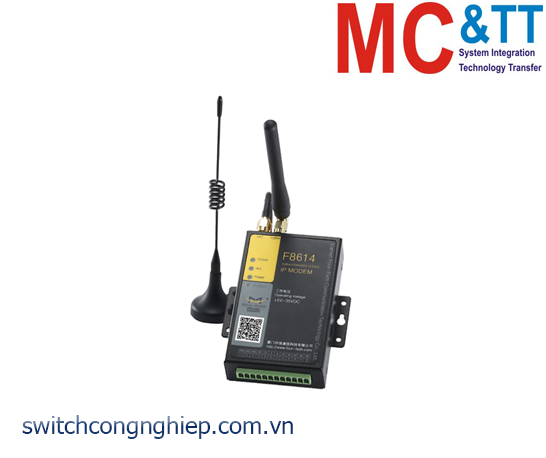 F8614: ZigBee + CDMA2000 1X EVDO IP Modem Four-Faith
