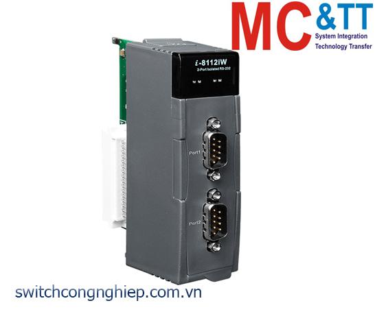I-8112iW-G CR: Module 2 cổng cách ly RS-232 ICP DAS