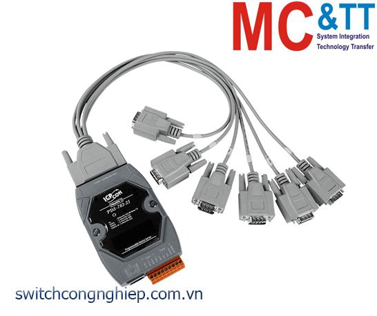 PDS-782-25/D6 CR: Bộ chuyển đổi tín hiệu 7 cổng RS-232 +1 cổng RS-485 sang Ethernet ICP DAS