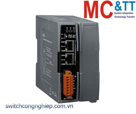 PDS-811 CR: Bộ lập trình chuyển đổi tín hiệu 1 cổng RS-232 sang 1 cổng Ethernet + 1 khe cắm mở rộng ICP DAS