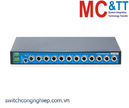 TNS5500-4GT-8POE: Switch công nghiệp quản lý EN50155 4 cổng Gigabit M12, 8 cổng PoE M12 100M