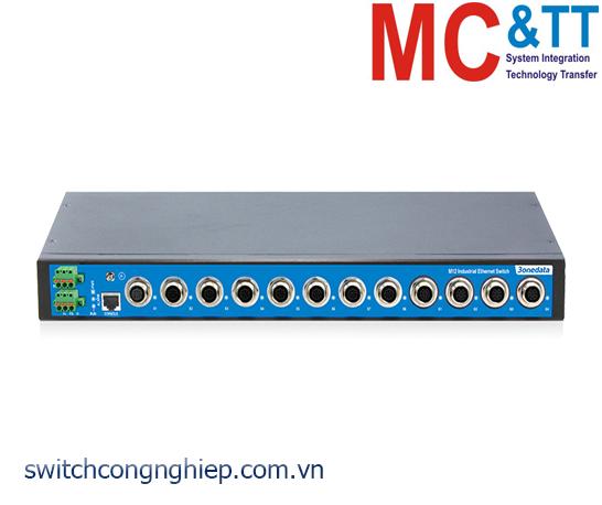TNS5500-4GT-8T: Switch công nghiệp quản lý EN50155 4 cổng Gigabit M12, 8 cổng M12 100M