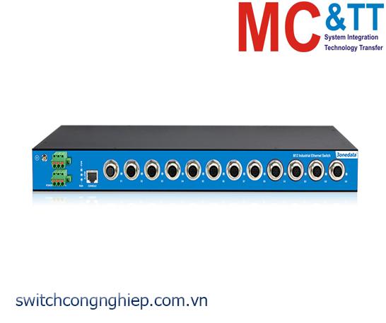 TNS5800-4GT-8T-P110: Switch công nghiệp quản lý layer 3 EN50155 4 cổng Gigabit M12, 8 cổng M12 100M