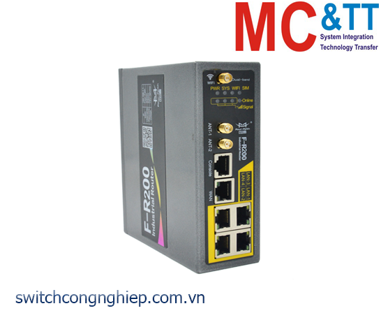 F-R200: Router công nghiệp 3G/4G Cellular