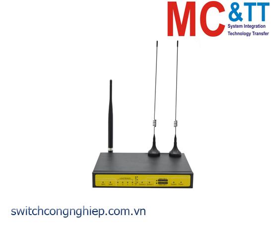F3446: Router công nghiệp WCDMA Dual SIM+WiFi Four-Faith