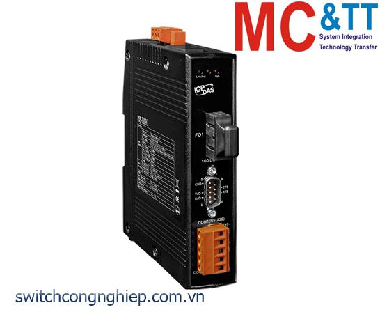 PDS-220FC CR: Bộ chuyển đổi tín hiệu 1 cổng RS-232+ 1 cổng RS-422/485 sang Ethernet ICP DAS