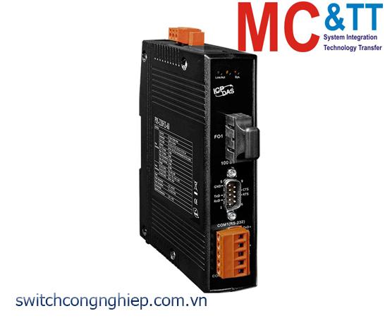 PDS-220FCS-60 CR: Bộ chuyển đổi tín hiệu 1 cổng RS-232+ 1 cổng RS-422/485 sang Ethernet ICP DAS