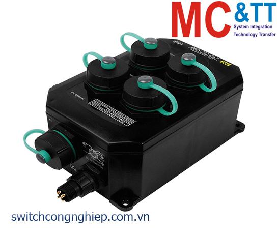 PPDS-742-IP67 CR: Bộ chuyển đổi tín hiệu 2 cổng RS-232+2 cổng RS-485 sang Ethernet ICP DAS