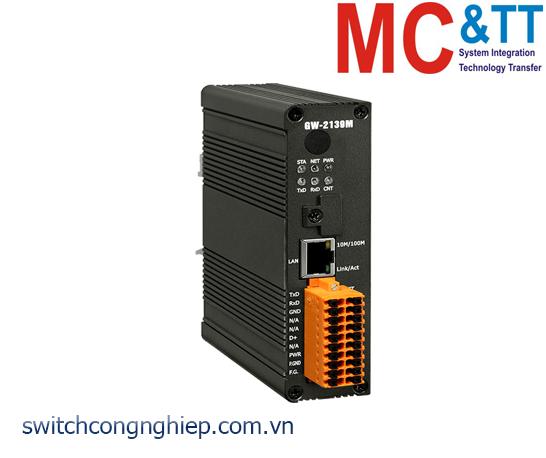 GW-2139M CR: Bộ chuyển đổi Modbus TCP sang BACnet MS/TP ICP DAS