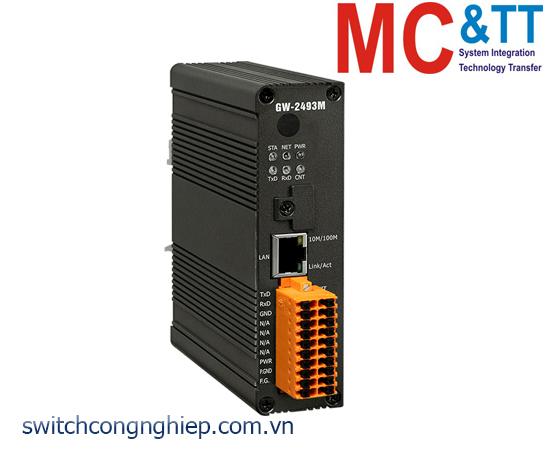 GW-2493M CR: Bộ chuyển đổi gateway BACnet/IP sang Modbus TCP ICP DAS