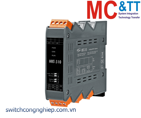 HRT-310 CR: Bộ chuyển đổi gateway Modbus RTU/ASCII sang HART ICP DAS