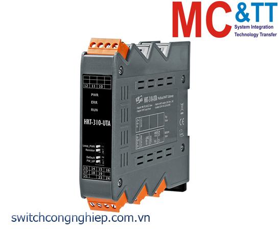 HRT-310-UTA CR: Bộ chuyển đổi gateway Modbus RTU/ASCII sang HART ICP DAS