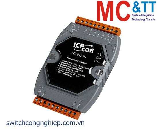HRT-710 CR: Bộ chuyển đổi gateway Modbus RTU/ASCII sang HART ICP DAS
