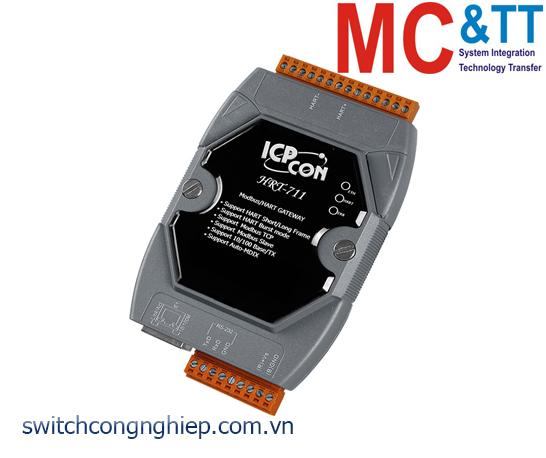 HRT-711 CR: Bộ chuyển đổi gateway Modbus TCP/UDP sang HART ICP DAS