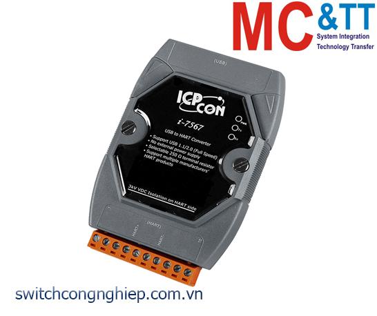 I-7567 CR: Bộ chuyển đổi tín hiệu USB sang HART ICP DAS