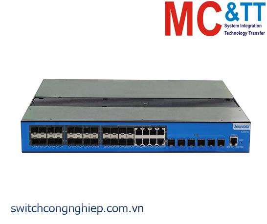 ICS5530-16GS8GC6XS-2P220: Switch công nghiệp quản lý Layer 3 16 cổng Gigabit SFP + 8 cổng Gigabit Combo + 6 cổng 10Gigabit SFP 3Onedata