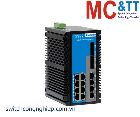 ICS6424-12GT4GS-2P48: Switch công nghiệp quản lý Layer 3 12 cổng Gigabit Ethernet + 4 cổng quang Gigabit SFP 3Onedata