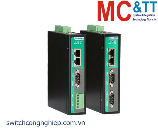IGW1112-2DI-(3IN1): Modbus Gateway 2 cổng RS-232/485/422 sang 2 cổng Ethernet