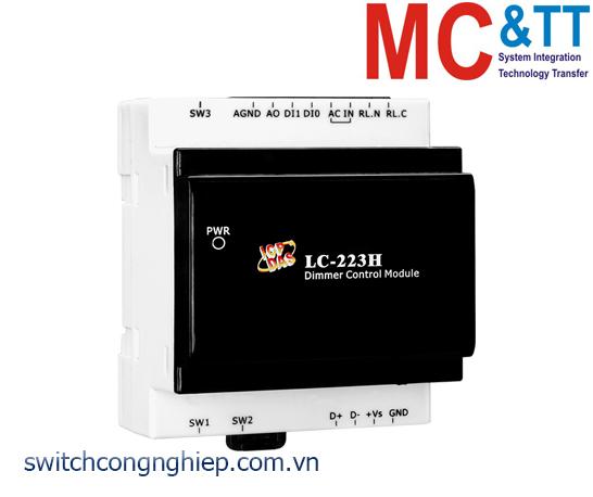 LC-223H CR: Module điều khiển độ sáng 1 kênh với 3 kênh đầu vào số+ 1 kênh đầu ra Rơ le+ 1 kênh đầu ra tương tự ICP DAS