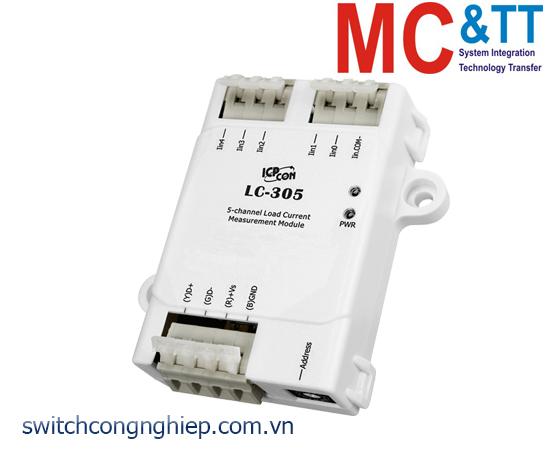 LC-305 CR: Module đo dòng điện 5 kênh đầu vào AC ICP DAS