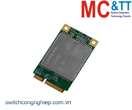 EC21-AU: Card Mini PCIe 4G LTE ICP DAS