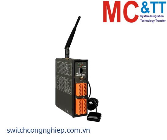 G-4513P-3GWA: Bộ lập trình PAC 3G WCDMA Solar charger tích hợp GPS ICP DAS