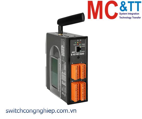 G-4514D-4GAU: Bộ lập trình PAC 4G LTE Solar charger tích hợp LCD ICP DAS