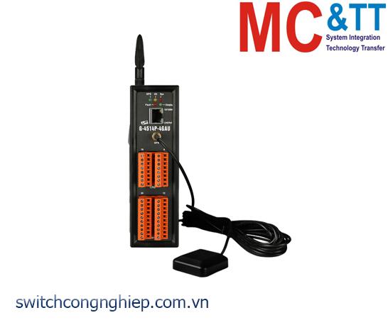 G-4514P-4GAU: Bộ lập trình PAC 4G LTE Solar charger tích hợp GPS ICP DAS