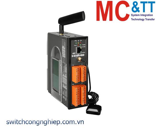 G-4514PD-4GAU: Bộ lập trình PAC 4G LTE Solar charger tích hợp GPS + LCD ICP DAS