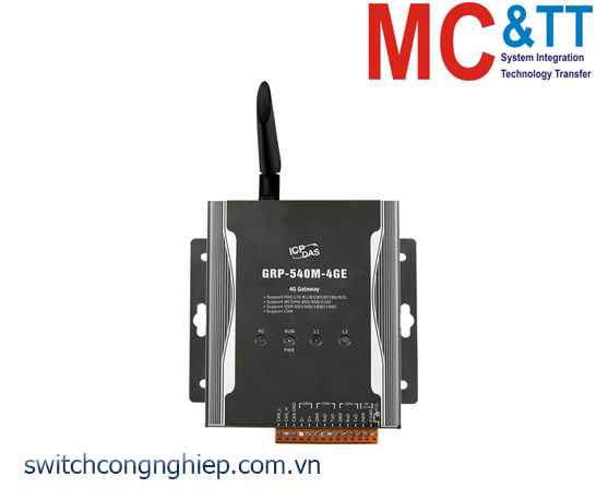 GRP-540M-4GE: Router công nghiệp 4G ICP DAS