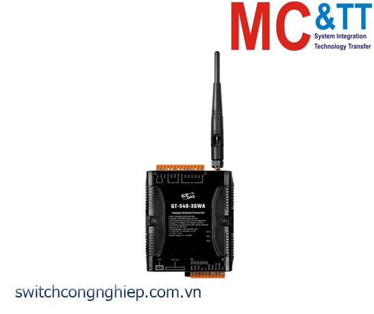 GT-540-3GWA: Modem 3G RTU tích hợp 6 DI + 2 DO + 1 AI ICP DAS