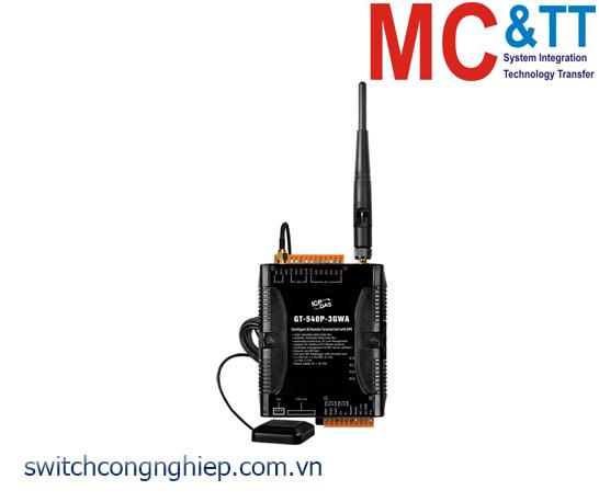 GT-540P-3GWA: Modem 3G RTU tích hợp GPS + 6 DI + 2 DO + 1 AI ICP DAS