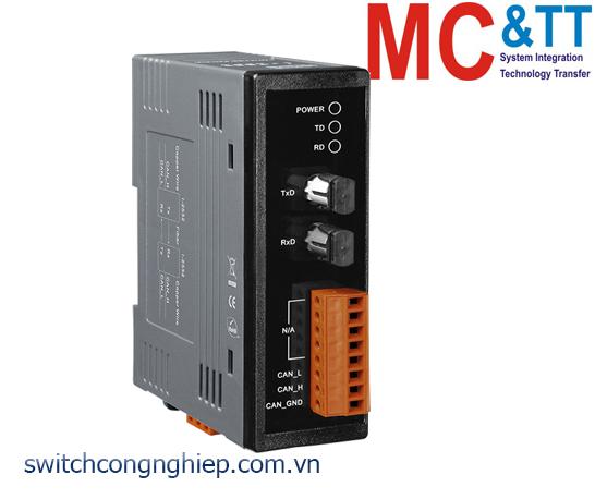 I-2532 CR: Bộ chuyển đổi tín hiệu CAN sang quang Multi-mode ICP DAS