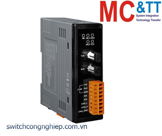 I-2533 CR: Bộ chuyển đổi tín hiệu CAN sang quang Multi-mode ICP DAS