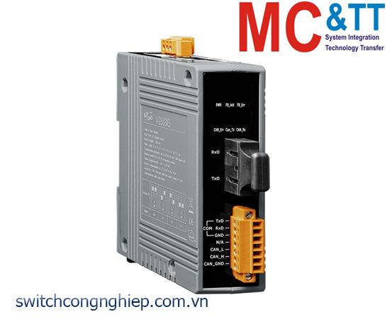 I-2533CS CR: Bộ chuyển đổi tín hiệu CAN sang quang Single-mode ICP DAS