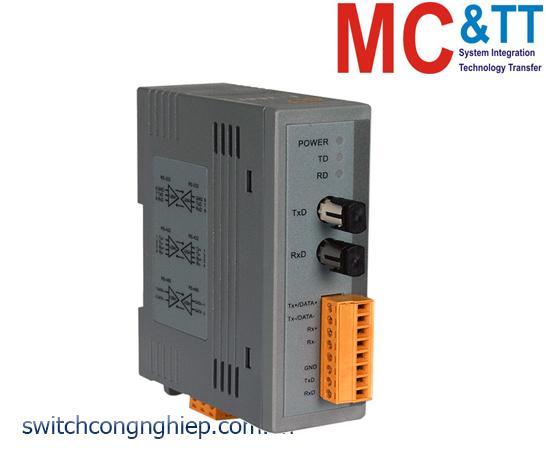 I-2541 CR: Bộ chuyển đổi tín hiệu RS-232/422/485 sang quang Mulit-Mode ICP DAS
