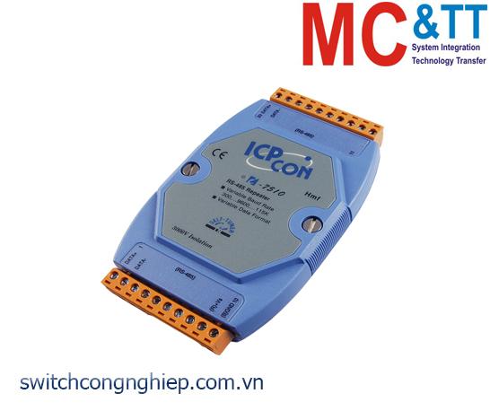 I-7510 CR: Bộ lặp tín hiệu cách ly RS-485 ICP DAS