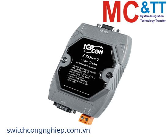 I-7530-FT-G CR: Bộ chuyển đổi tín hiệu RS-232 sang CAN ICP DAS