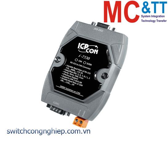 I-7530-G CR: Bộ chuyển đổi tín hiệu RS-232 sang CAN ICP DAS