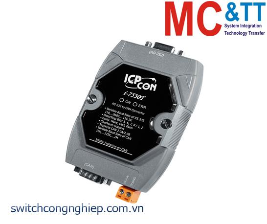I-7530T-G CR: Bộ chuyển đổi tín hiệu RS-232 sang CAN ICP DAS