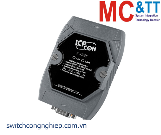 I-7565-G CR: Bộ chuyển đổi tín hiệu USB sang CAN ICP DAS