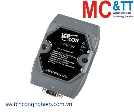 I-7565-H1-G CR: Bộ chuyển đổi tín hiệu USB sang CAN thông minh tốc độ cao ICP DAS