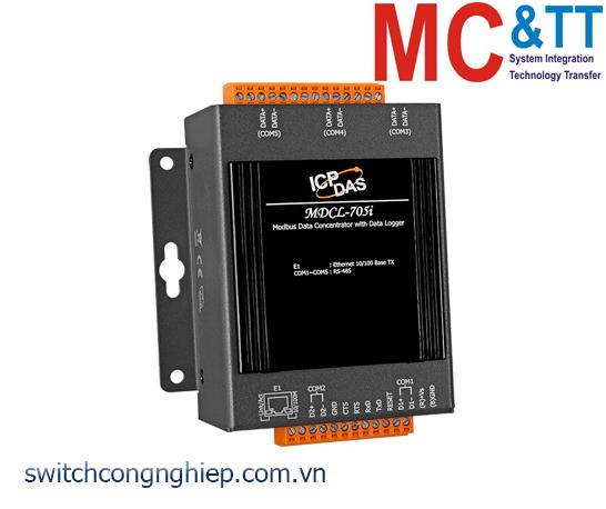 MDCL-705i: Bộ tập trung dữ liệu Modbus và Data Logger ICP DAS