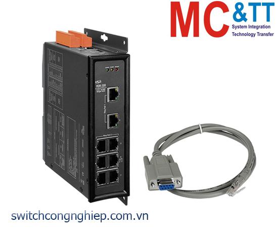 MSM-508 CR: Bộ chuyển mạch công nghiệp 8 cổng Ethernet ICP DAS