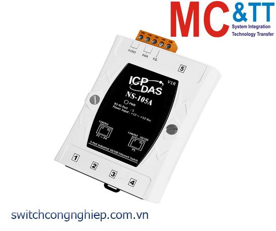 NS-105A CR: Bộ chuyển mạch công nghiệp 5 cổng Ethernet ICP DAS