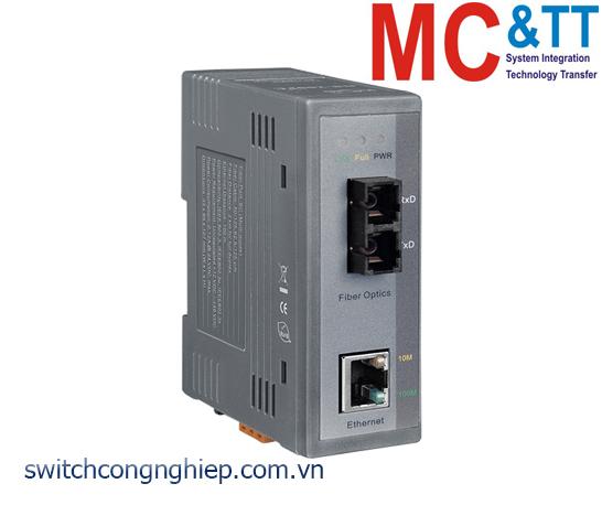 NS-200AFC-T CR: Bộ chuyển đổi tín hiệu Ethernet sang quang (Multi mode- SC) ICP DAS