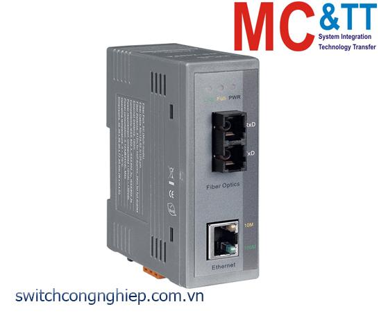 NS-200FC: Bộ chuyển đổi quang điện (Multi mode, SC) ICP DAS