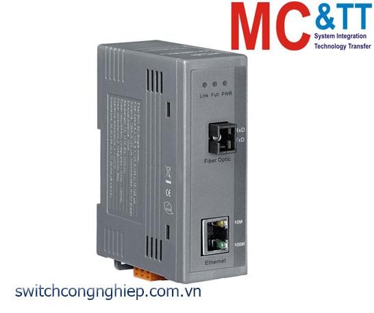 NS-200WDM-A: Bộ chuyển đổi quang điện TX 1310 nm, RX 1550 nm, SC, 1 sợi quang ICP DAS