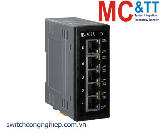 NS-205A CR: Bộ chuyển mạch công nghiệp 5 cổng Ethernet ICP DAS